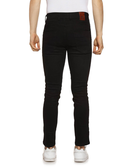 Shop Slim Men  Black Jeans-Design