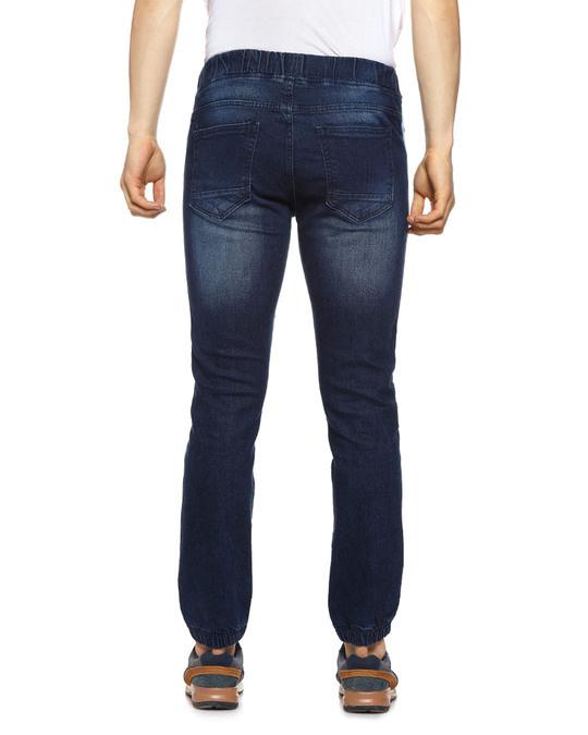 Shop Slim Men Dark Black Jeans-Design