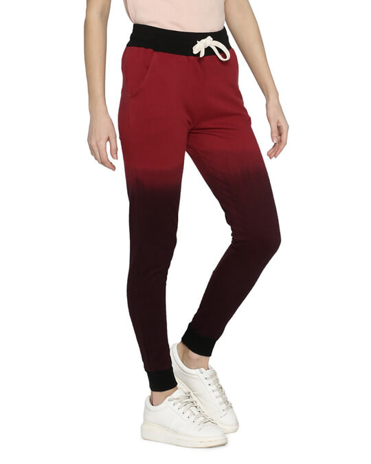 Shop Women Ombre Stylish Trackpant-Back