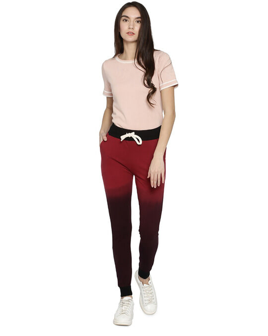 Shop Women Ombre Stylish Trackpant-Full