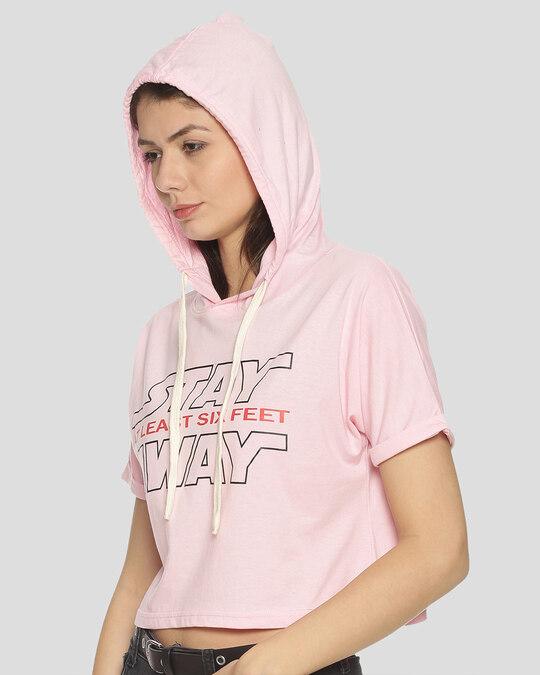Shop Women Printed Stylish Casual Crop Top-Back