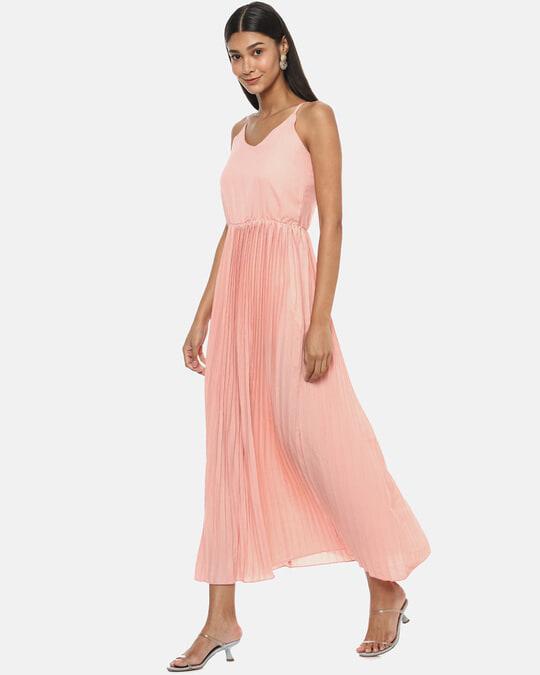 Shop Women Shoulder Straps Stylish Dress-Back