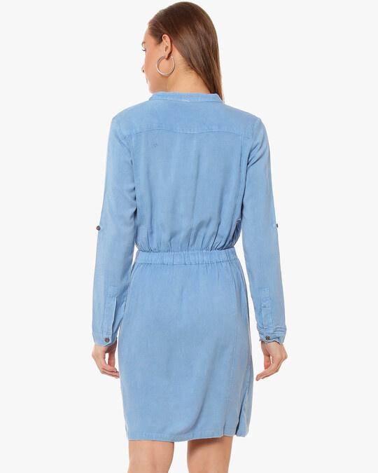 Shop Women Solid Stylish Casual Dress-Design