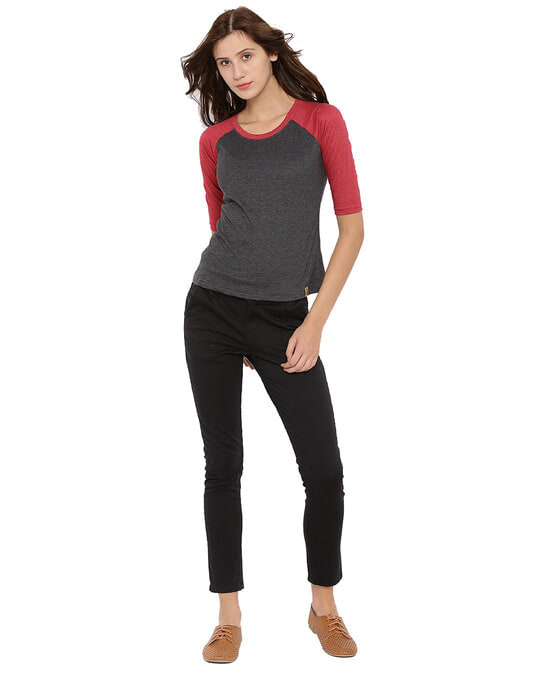 Shop Women Solid Stylish Casual Top-Full