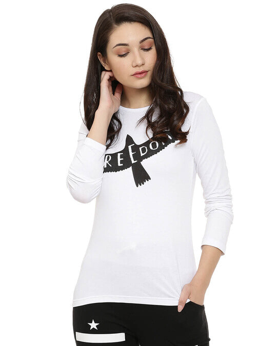 Shop Women Solid Stylish Casual Top-Front