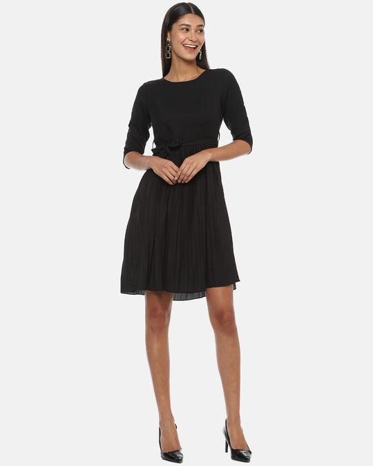 Shop Women Solid Stylish Dress-Full
