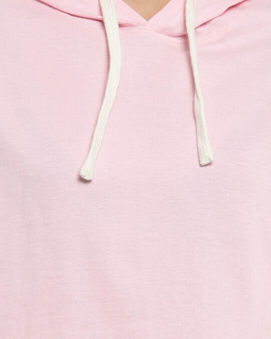 Shop Women Solid Stylish Pink Casual Crop Top-Full