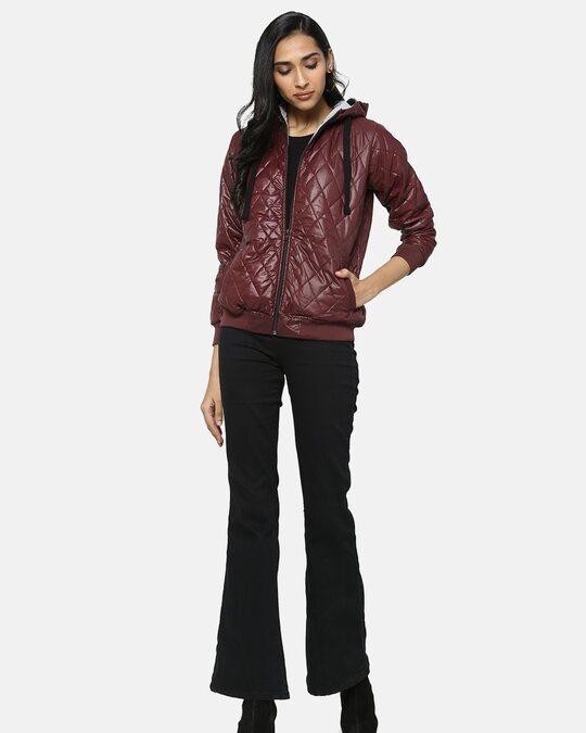 Shop Women Stylish Bomber Jacket-Full
