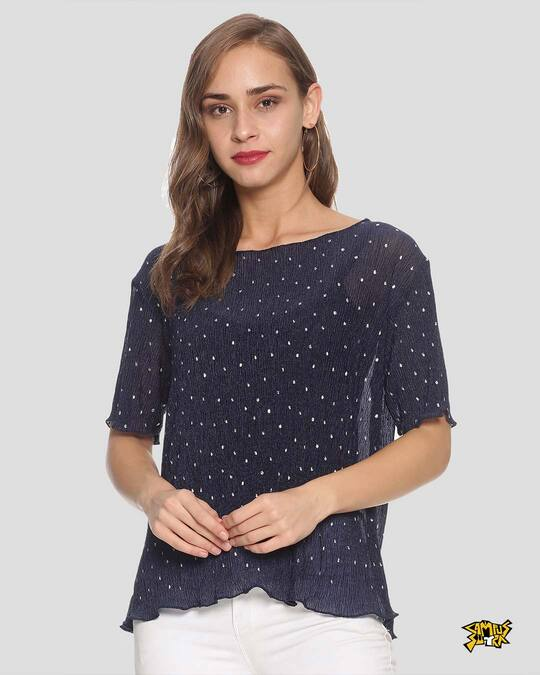 Shop Women Stylish Casual Top-Front