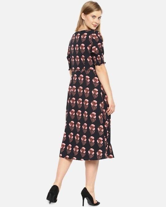 Shop Women Stylish Floral Design Casual Dresses-Design