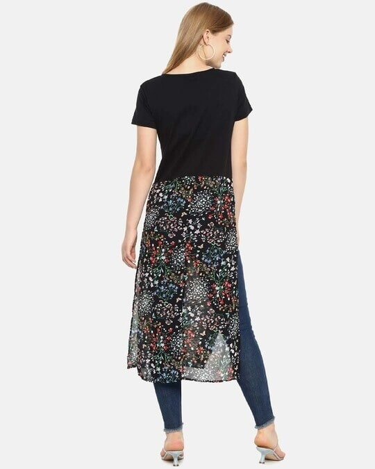 Shop Women Stylish Floral Design Casual Dresses-Design
