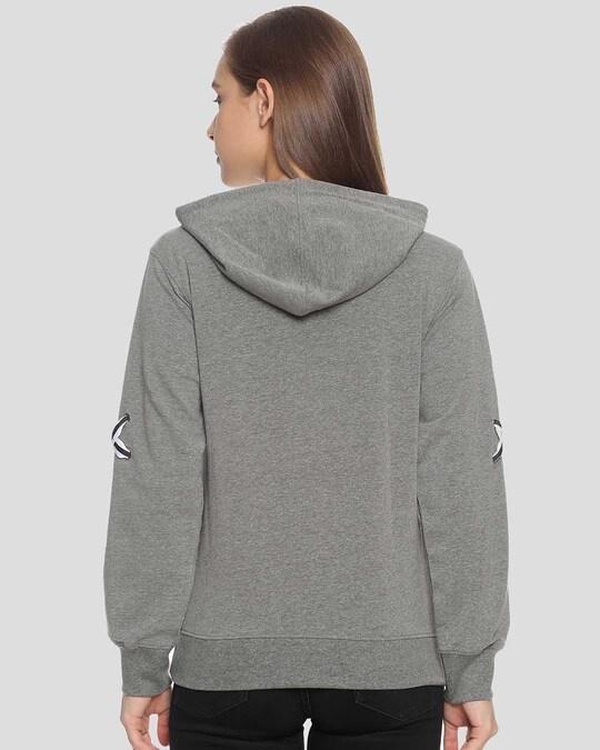 Shop Campus Sutra Women Stylish Hooded Sweatshirt-Design