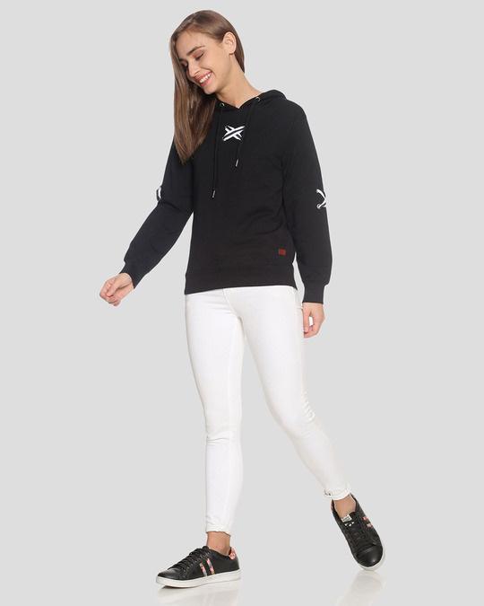 Shop Women Stylish Hooded Sweatshirt-Full