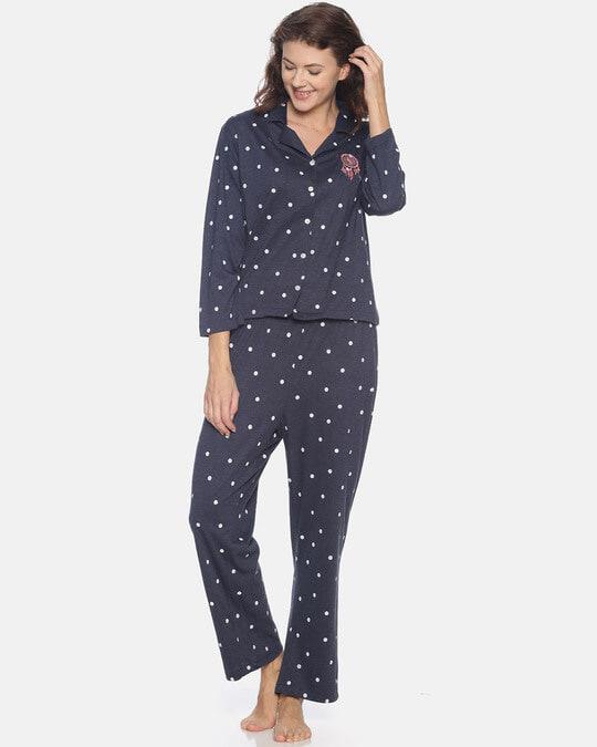Shop Women Stylish Night Suit-Back