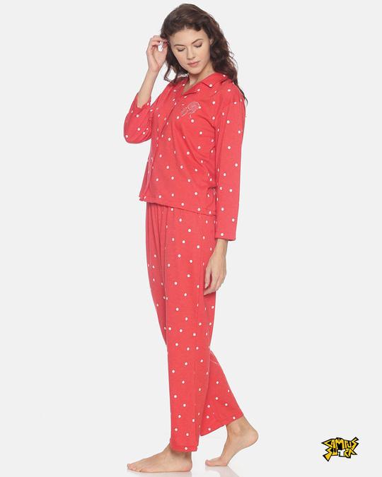 Shop Women Stylish Night Suit-Front