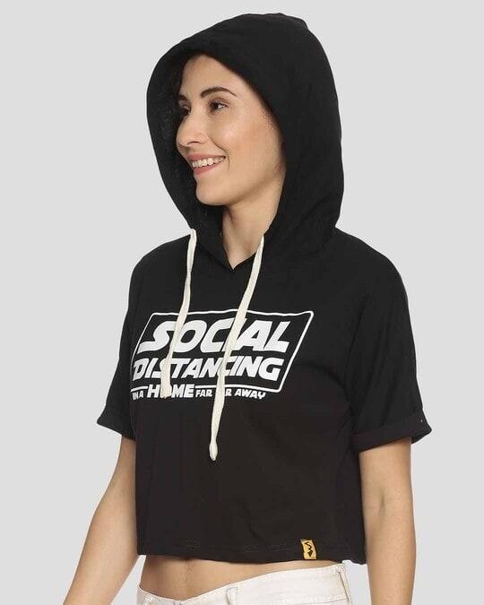 Shop Women Stylish Printed Crop Top-Back