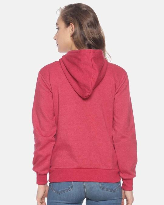 Shop Women Stylish Printed Hooded Sweatshirt-Full