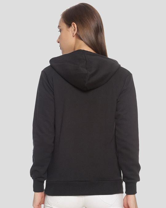 Shop Campus Sutra Women Stylish Printed Hooded Sweatshirt-Design