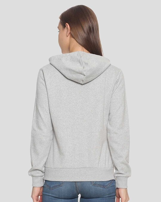 Shop Women Stylish Printed Hooded Sweatshirt-Design