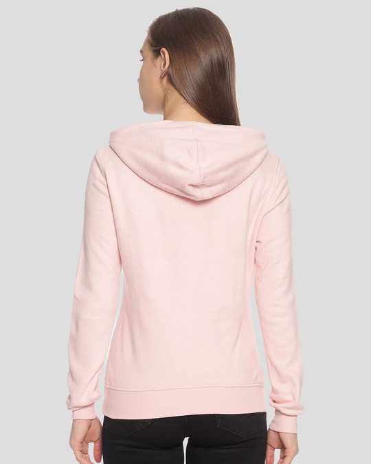 Shop Campus Sutra Women Stylish Printed Hooded Sweatshirt-Design
