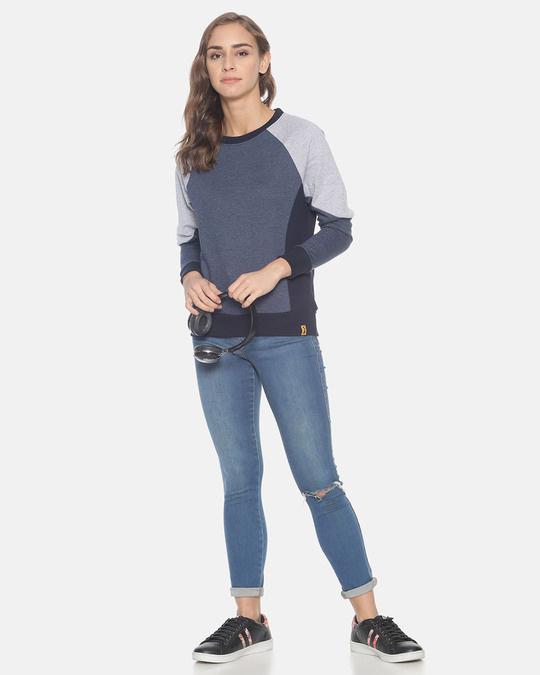 Shop Women Stylish Round Neck Sweatshirt-Full