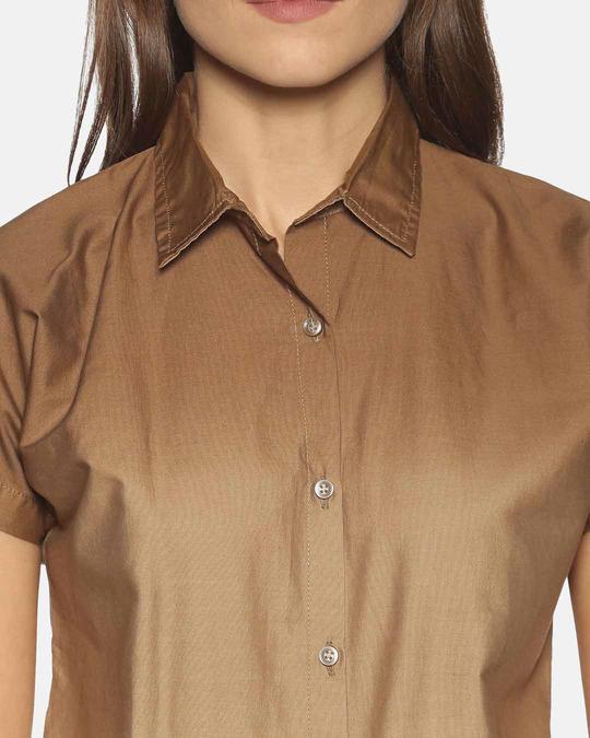 Shop Women Stylish Solid Shirts