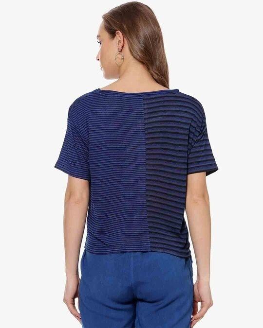 Shop Women Stylish Striped Casual Top-Design