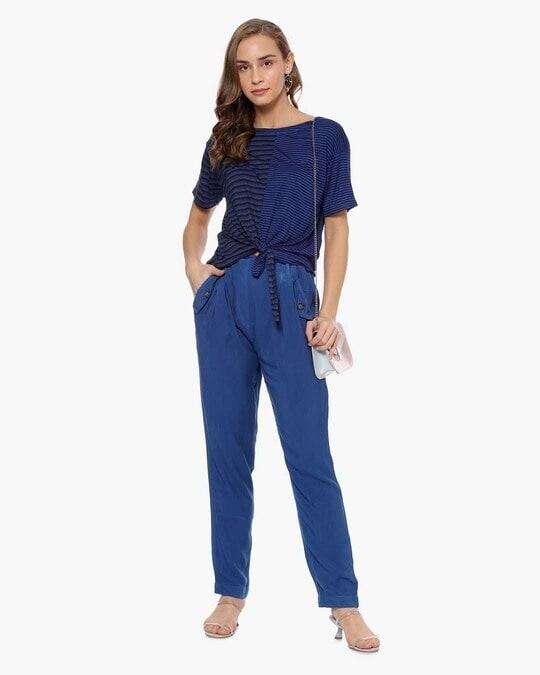 Shop Women Stylish Striped Casual Top-Full