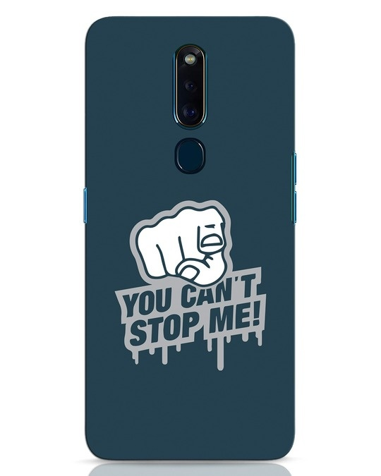 Shop Cant Stop Me Oppo F11 Pro Mobile Cover-Front
