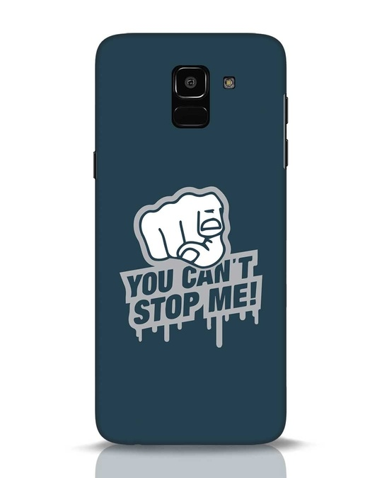 Shop Cant Stop Me Samsung Galaxy J6 Mobile Cover-Front