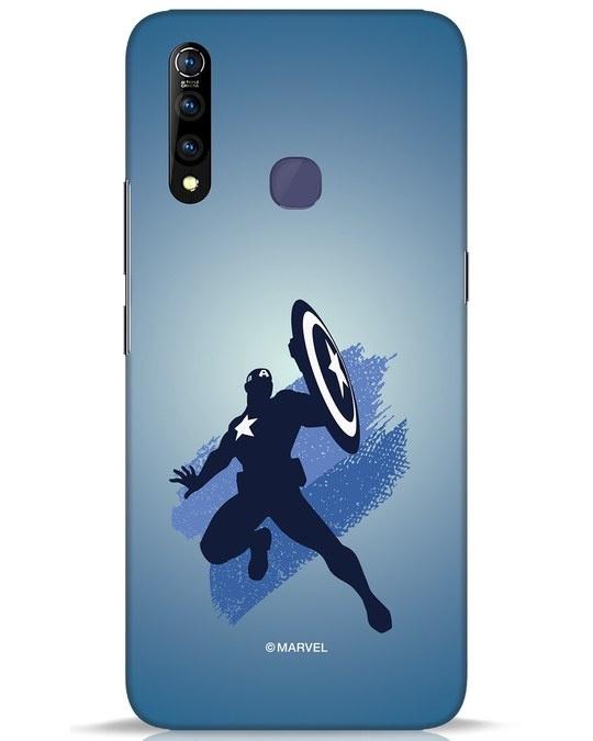 Shop Captain America Blues Vivo Z1 Pro Mobile Cover (AVL)-Front