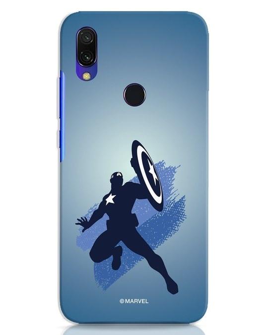 Shop Captain America Blues Xiaomi Redmi 7 Mobile Cover (AVL)-Front