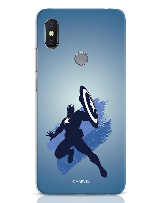Shop Captain America Blues Xiaomi Redmi Y2 Mobile Cover (AVL)-Front