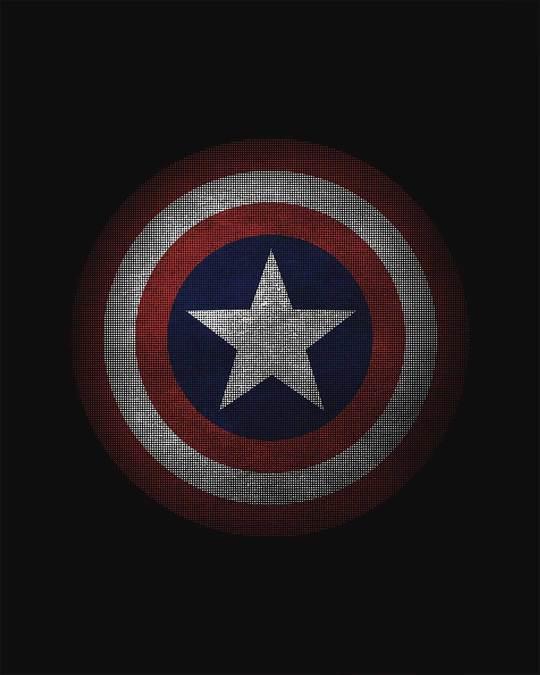 Shop Captain America Shield Version 2 Vest (AVL)