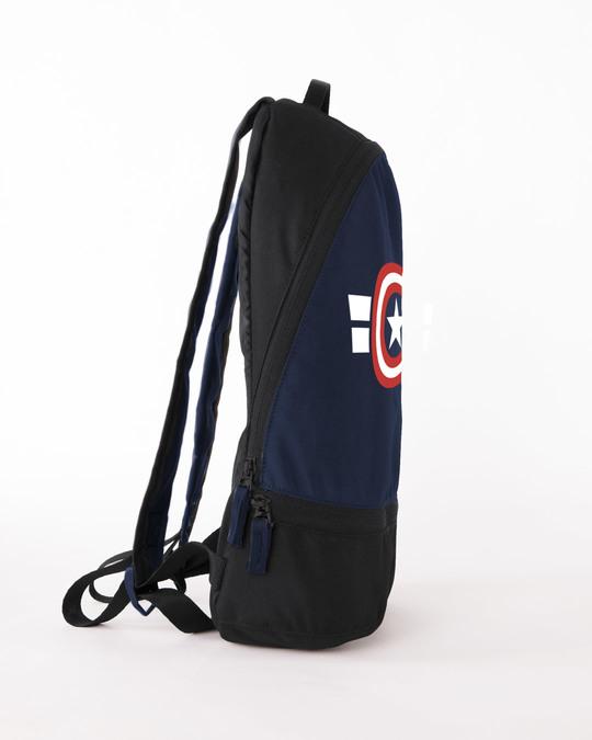 Shop Captain America Stripes Essential Mini Backpack (AVL)-Full