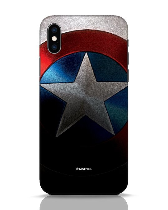 Shop Captain iPhone XS Mobile Cover-Front