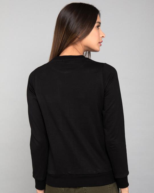 Shop Captain Marvel Logo Fleece Light Sweatshirts (AVEGL)-Back