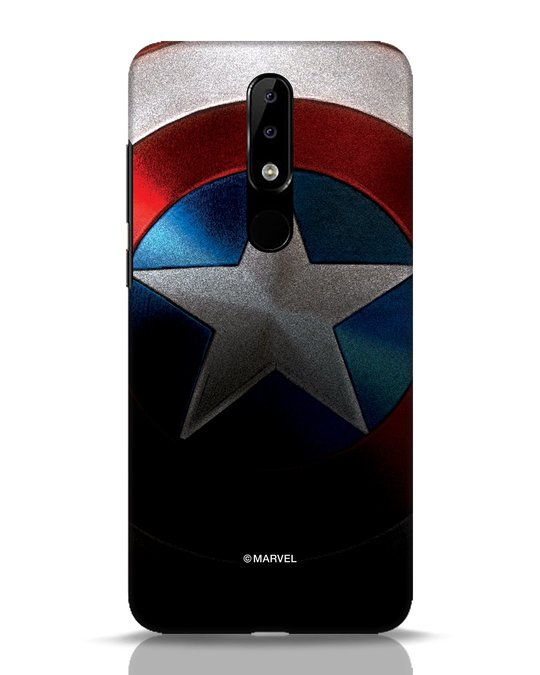 Shop Captain Nokia 5.1 Plus Mobile Cover-Front