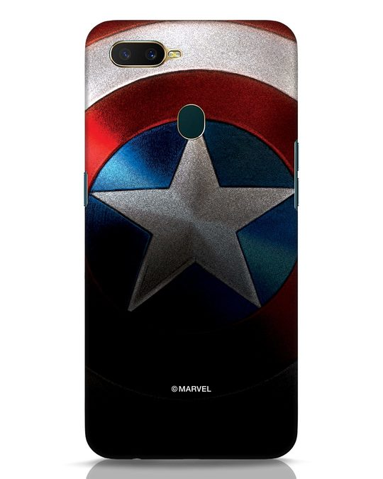 Shop Captain Oppo A7 Mobile Cover-Front