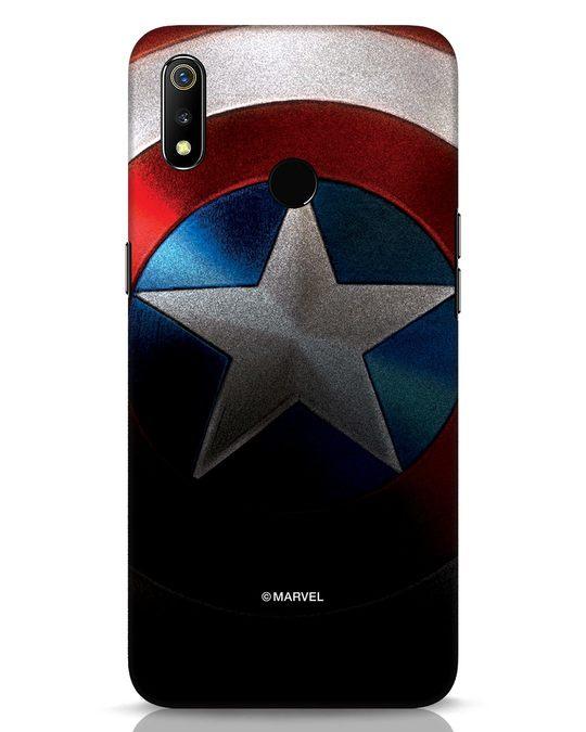 Shop Captain Realme 3 Mobile Cover-Front