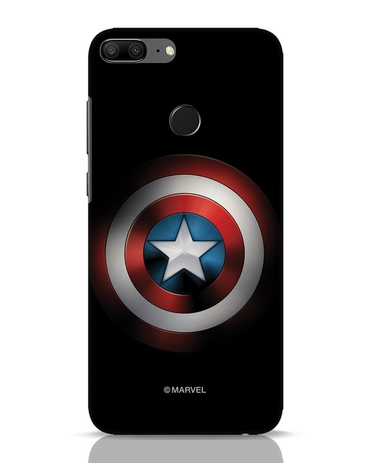 Shop Captain's Shield Huawei Honor 9 Lite Mobile Cover (AVL)-Front