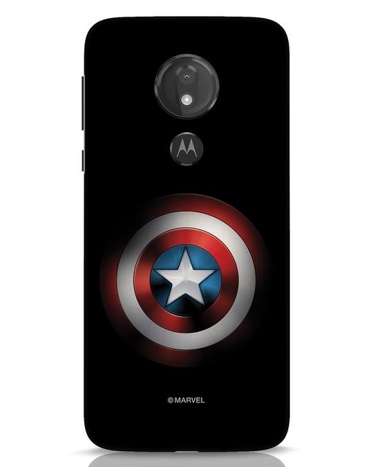 Shop Captain's Shield Moto G7 Power Mobile Cover (AVL)-Front