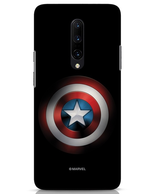 Shop Captain's Shield OnePlus 7 Pro Mobile Cover (AVL)-Front