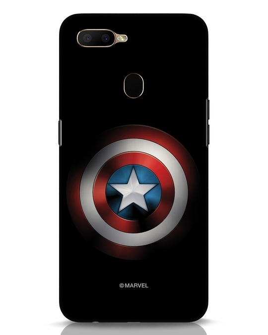 Shop Captain's Shield Oppo A5s Mobile Cover (AVL)-Front