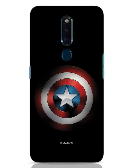 Shop Captain's Shield Oppo F11 Pro Mobile Cover (AVL)-Front