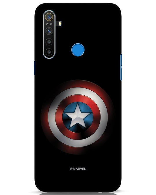 Shop Captain's Shield Realme 5 Mobile Cover (AVL)-Front