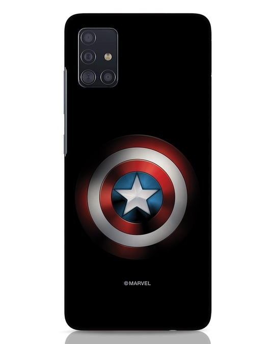 Shop Captain's Shield Samsung Galaxy A51 Mobile Cover (AVL)-Front