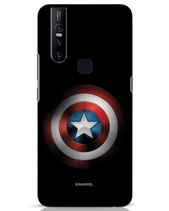 Shop Captain's Shield Vivo V15 Mobile Cover (AVL)-Front