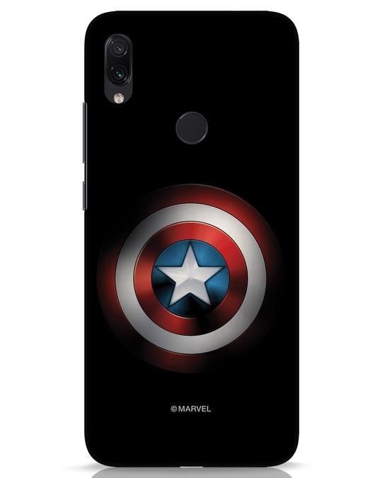Shop Captain's Shield Xiaomi Redmi Note 7s Mobile Cover (AVL)-Front