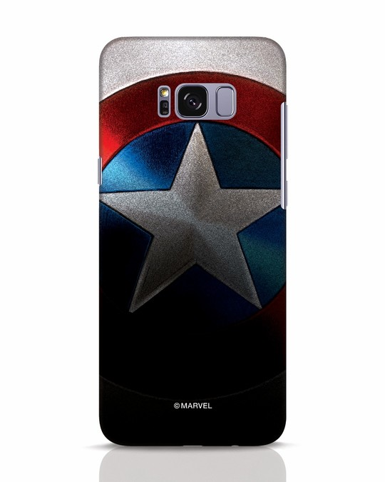 Shop Captain Samsung Galaxy S8 Mobile Cover-Front